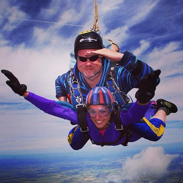 Tandem Skydive | Rangers Charity Foundation